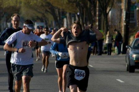 running-a-marathon-showing-off